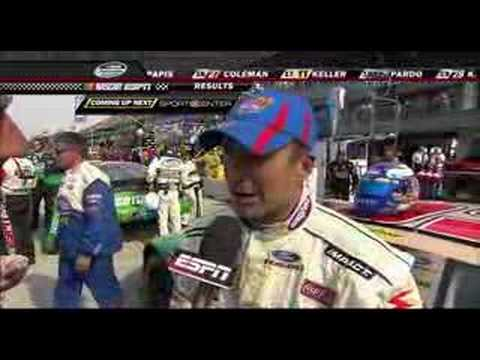 Marcos Ambrose - NNS Corona 200 Mexico City - Post Race