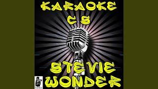 Blowin' in the Wind (Karaoke Version) (Originally Performed By Stevie Wonder)