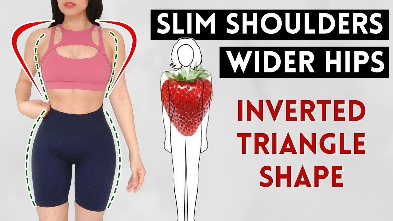 Download GET WIDER HIPS, REDUCE BROAD SHOULDERS, harmonize inverted triangle body shape in 20 days