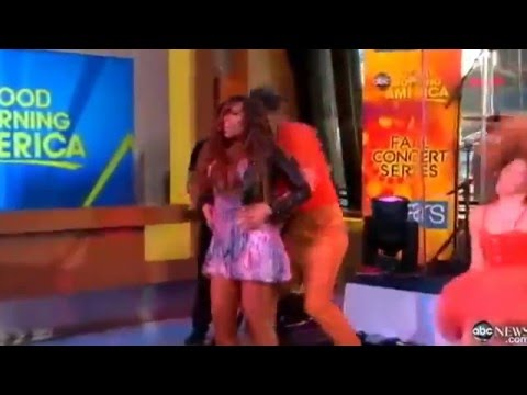 Demi Lovato   Who's That Boy Feat DEV live At Good Morning America