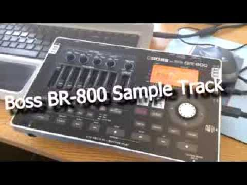 Boss BR-800 sample track - recorded on Ibanez JS1200CA
