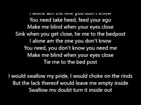 Eve 6 - Inside Out - Lyrics Scrolling