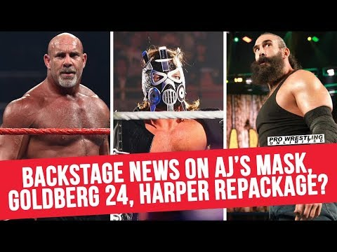 Backstage News On AJ Styles' Mask, Goldberg 24 Special, Luke Harper Repackaged & More...