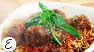 Emeril's Big Boy Spaghetti and Meatballs