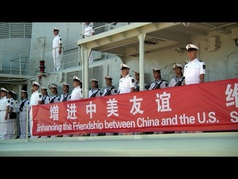 Chinese Navy Ships Visit Joint Base Pearl Harbor-Hickam.