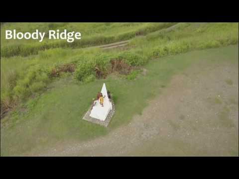 Guadalcanal Battlefield Aerial Drone Footage