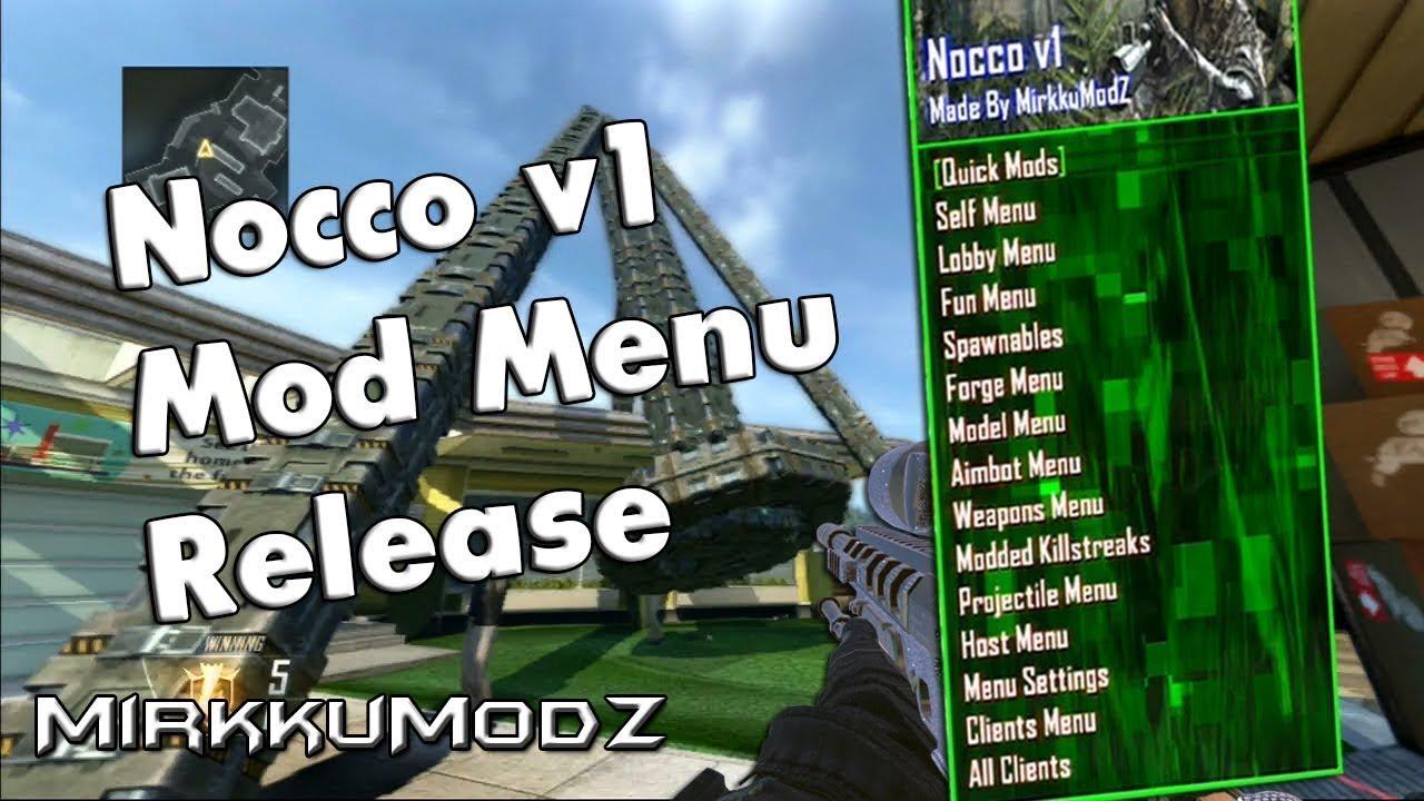 Bo2 Mod Menu Nocco v1 [Release] + DOWNLOAD - YouTube