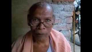 Sankhali Bag reciting from Stuti Chintamani Video