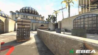 CS: GO Quick AWP Frags by CLG JDM vs CS: GO Lounge - de_dust2 CT Bombsite B Defensive Hold