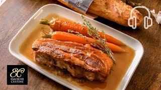豚バラ肉のブレゼの作り方