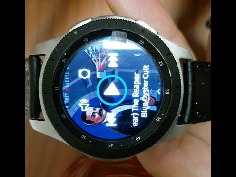 Samsung Galaxy Watch (How To Play Music)