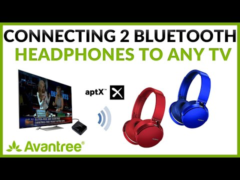Connect 2 Headphones To The Same TV At The Same Time