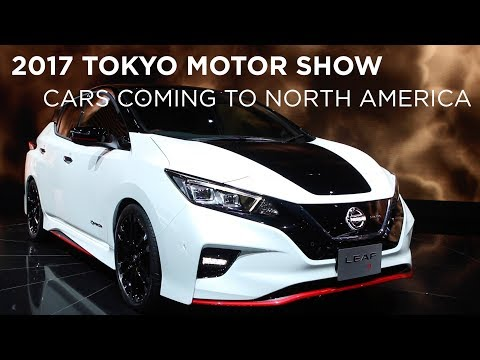 Tokyo Motor Show 2017 | Cars Coming to North America | Driving.ca