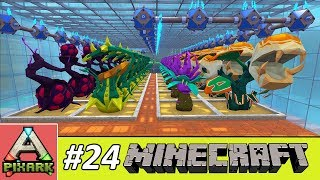 PIXARK - Minecraft Ark #24 - Carnivorous Garden - Vườn Cây Ăn Thịt Người Pixark