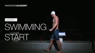Старт в плавании - правильный прыжок в воду - Mad Wave
