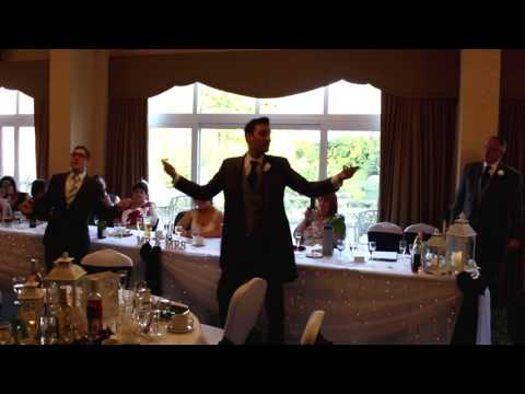 Jamie and Laura Harris' Wedding  Disney Flash Mob
