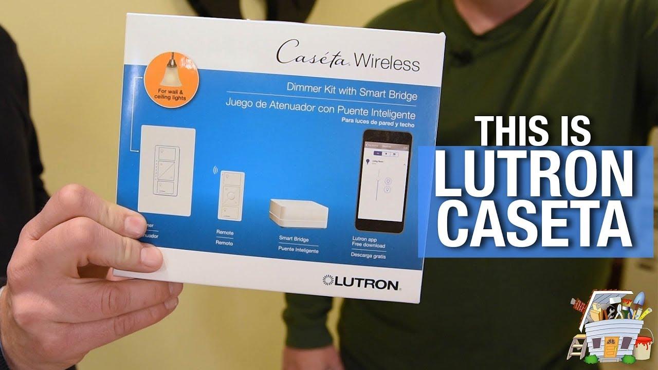 Lutron Caseta Smart Home Lighting Introduction | HANDYGUYS TV - YouTube