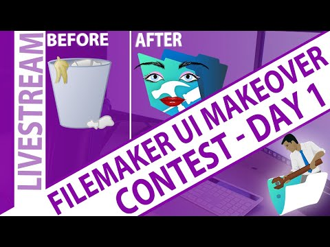 FileMaker - Real World UI/UX Makeover - Day 1 - Nick Hunter