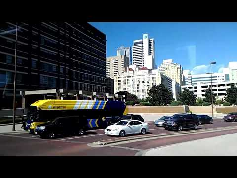 Arriving At Dallas Greyhound Bus Station