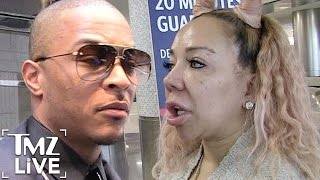 T.I. & TINY'S Shocking Divorce | TMZ Live