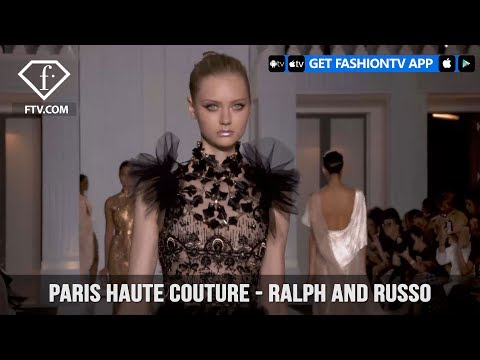 Paris Haute Couture Autumn/Winter 2018 - Ralph and Russo | FashionTV