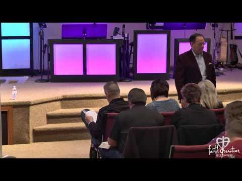 School of the Spirit (Part 1) - Joe Morris - Faith Christian Fellowship