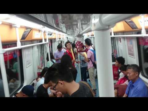 Guangzhou Metro Line 3 廣州地鐵三號線  (漢溪 前往 市橋 )