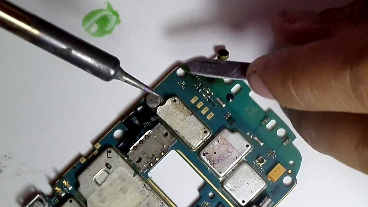 Blackberry 8520 microphone repair