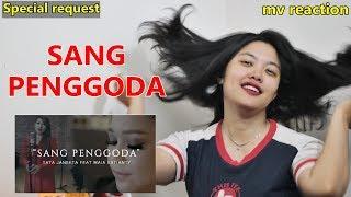TATA JANEETA feat MAIA ESTIANTY Sang Penggoda MV Reaction Indonesia