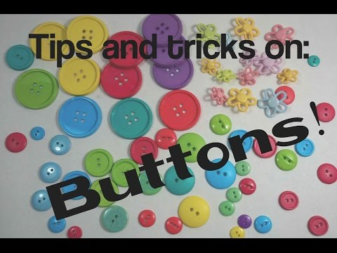 How to thread a band into a button