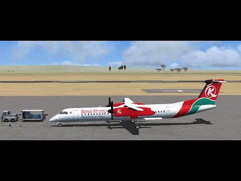 Series 1: Episode 5 - How To Start-Up Majestic's Bombardier Dash 8 Q400 From Cold And Dark FSX