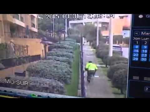 Video de balacera entre apartamenteros y Policía en Bogotá