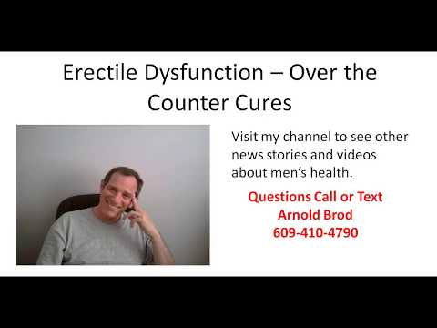 Erectile Dysfunction – Over the Counter Cures That Work