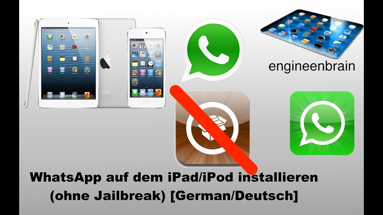 WhatsApp auf dem iPad/iPod Touch installieren (ohne