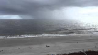 Storm off the Atlantic Ocean. ..Myrtle Beach