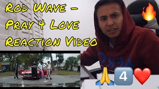 Rod Wave - Pray 4 Love (Official Reaction Video)