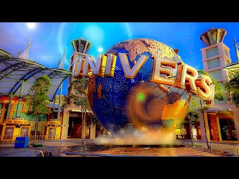 A Day At Universal Studios, Studio City, Los Angeles