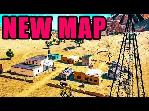 NEW Map & Guns! ? Playerunknown's Battlegrounds New UPDATE Test Server Gameplay thumbnail