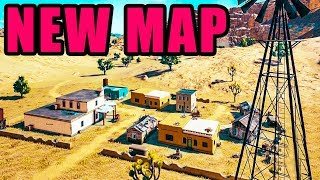 NEW Map & Guns! 🔴 Playerunknown's Battlegrounds New UPDATE Test Server Gameplay