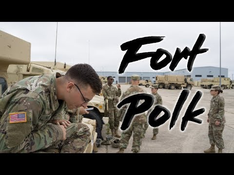 FORT POLK Is Not That BAD | MEDICS Teaching The BASICS