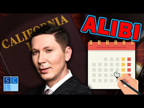 "How to present an ""Alibi"" defense? A former D.A. explains"