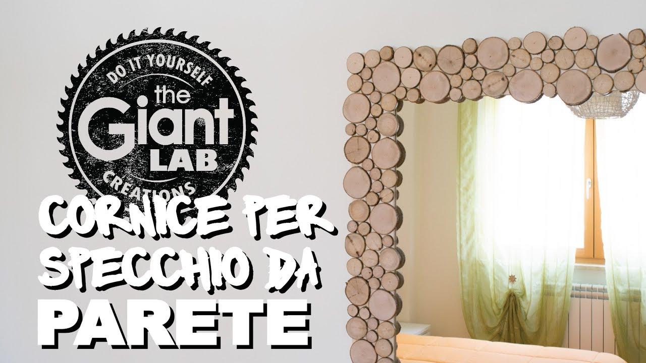 Cornice Specchio Fai Da Te.Mirror Frame Diy Cornice Per Specchio Da Parete Fai Da Te Youtube
