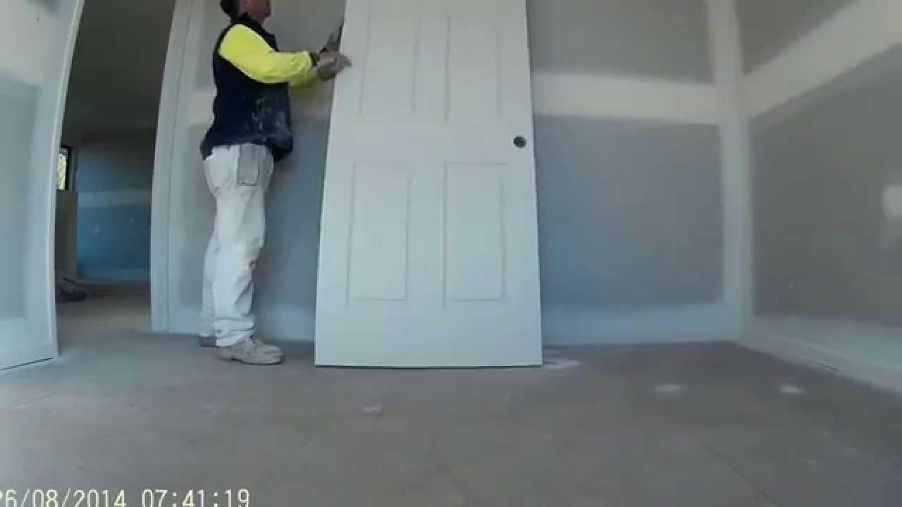 Sanding door edges & Sanding door edges - YouTube