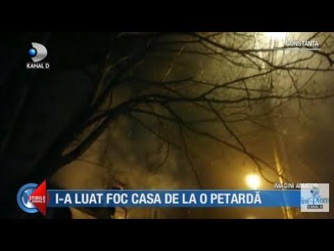 Stirile Kanal D (01.01.2019) - I-a luat foc casa de la o petarda! Editie COMPLETA