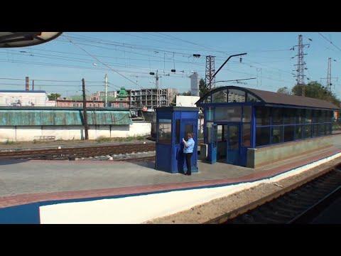 Вид из окна поезда Нижний Новгород,Киров