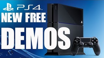 New PS4 Free Demos on PSN Store