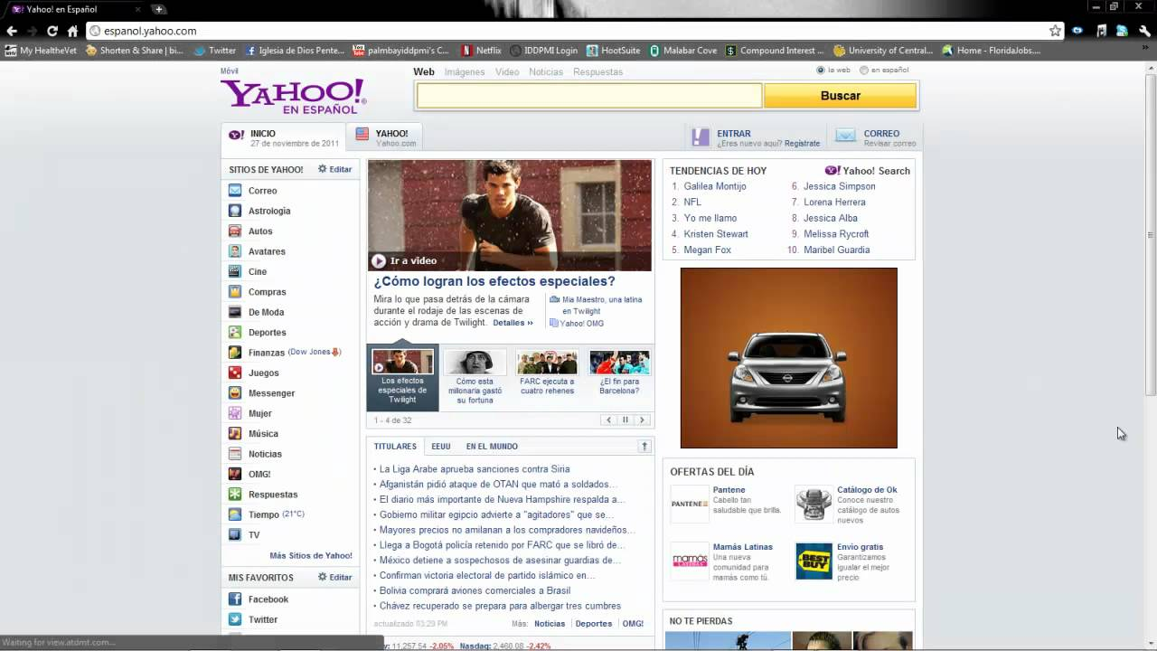 Como cambiar Yahoo a Español en un click! - YouTube
