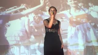 """песня """"Спасибо жизнь"""" поет Анна-Мария в лагере """"Искорка"""" 16.06.2013"""