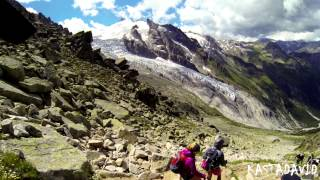 TMB - TOUR DU MONT BLANC (Ruta de 7 días alrededor del Mont Blanc en los Alpes) 2013