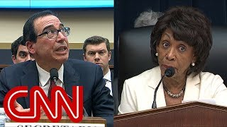 Treasury Secretary Steve Mnuchin and Rep. Maxine Waters (D-CA) argued over a scheduling conflict during a House Committee on Financial Services hearing.